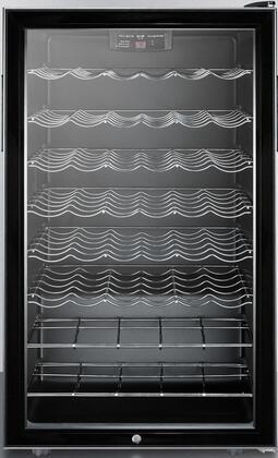 "Summit SWC525LBI 19.94"" Freestanding Wine Cooler |Appliances Connection"