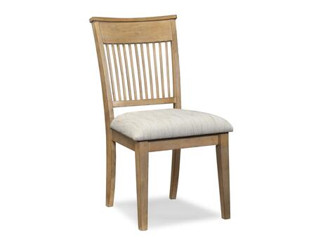 Klaussner 794900 Bayboro Series Casual Microfiber Wood Frame Dining Room Chair