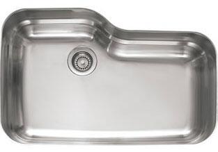 Franke ORX Orca Series Single Bowl Sink in Stainless Steel