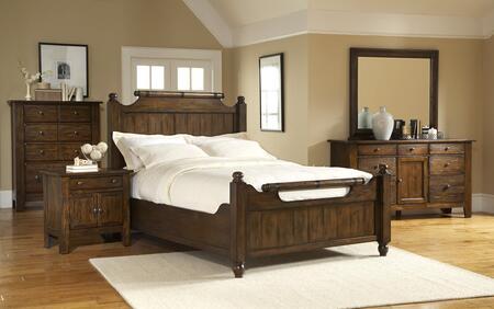 Broyhill 4399KFBN4DCDM Attic Heirlooms King Bedroom Sets