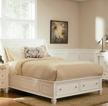 Coaster 400239F Sandy Beach Series  Sleigh Bed