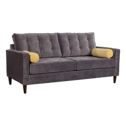 Zuo 100178 Savannah Series Stationary Fabric Sofa