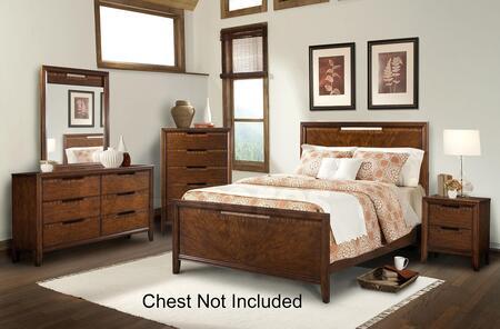 Klaussner 570066KBDMNS Symmetry King Bedroom Sets