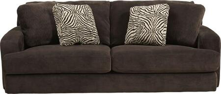 """Jackson Furniture Palisades Collection 4186-03- 93"""" Sofa with T-Front Seat Cushions, Wide Track Arms and Four Toss Pillows in"""