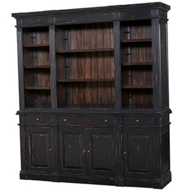 Bramble 23572 Roosevelt Series Wood 8 Shelves Bookcase