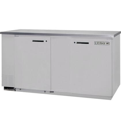 MS68-1 Single Sided Milk Cooler in [Color] with Stainless Steel Top