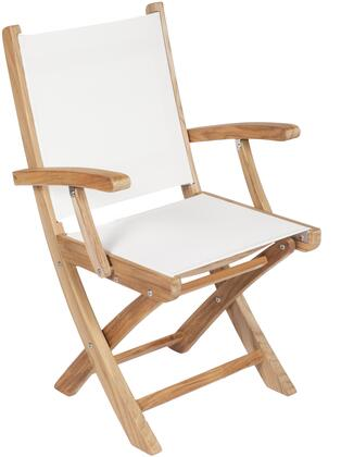 Royal Teak Collection SMCX Sailmate Folding Arm Chair