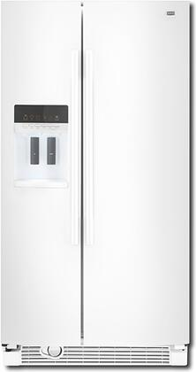 Maytag MSD2559XEW Freestanding Side by Side Refrigerator
