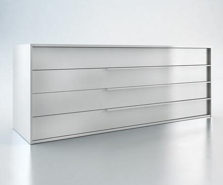 Modloft MD323DRLAQ Jane Series Wood Dresser