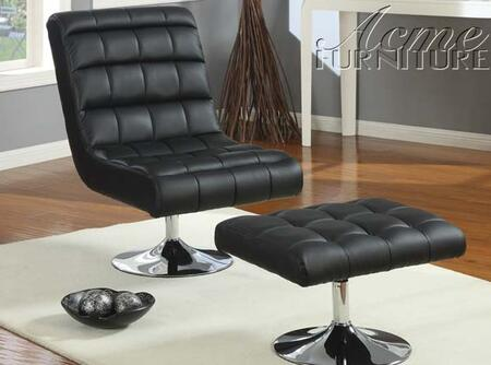 Acme Furniture 59040 Lucita Series Leather Accent Chair