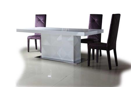 VIG Furniture VGDVLS201B5PCSET Eva Dining Room Tables
