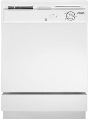 """Whirlpool DU811SWPQ 24"""" Built-In Full Console Dishwasher 