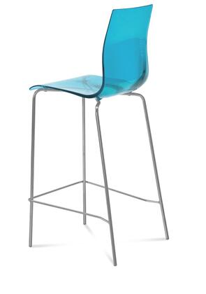 Domitalia GELASSG15SAZ Gel Series Residential Not Upholstered Bar Stool