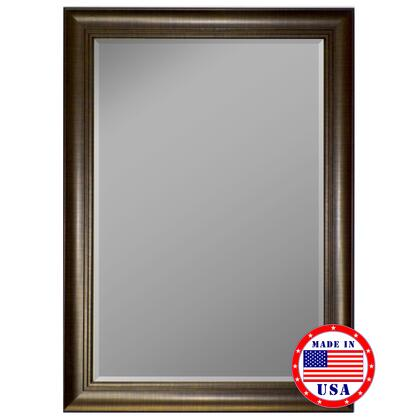 Hitchcock Butterfield 81170X 2nd Look 3 Step Scratch Copper Framed Wall Mirror