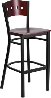 Flash Furniture XUDG60515MAHBARMTLGG Hercules Series Commercial Not Upholstered Bar Stool