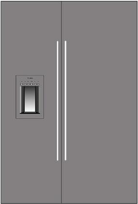 Thermador 277066 Freedom Side-By-Side Refrigerators