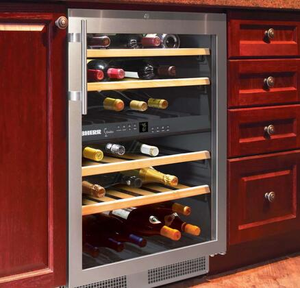 "Liebherr WU4000 23.5"" Stainless Steel Built-In Wine Cooler"