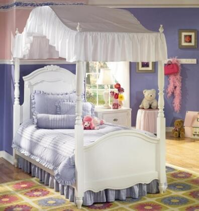 Signature Design by Ashley B188B10018646789 Exquisite Series Childrens Full Size Canopy Bed