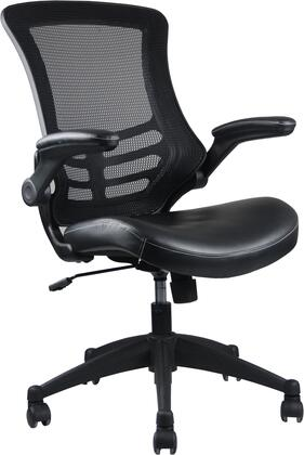 "RTA Products RTA8070BK 25.59""  Office Chair"