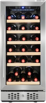Akdy Wc0033 15 Inch Stainless Steel Built In Wine Cooler