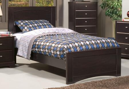 Sandberg 513F Mason Series  Full Size Panel Bed