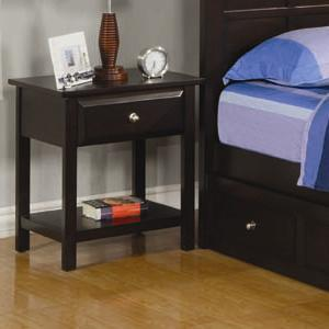 Coaster 400752 Jasper Series  Wood Night Stand