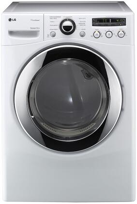 LG DLEX2650W SteamDryer Series Electric Dryer, in White