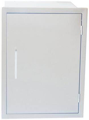 Sunstone BA-DS Signature Series Belved Frame Weather Sealed Dry Storage Pantry in Stainless Steel