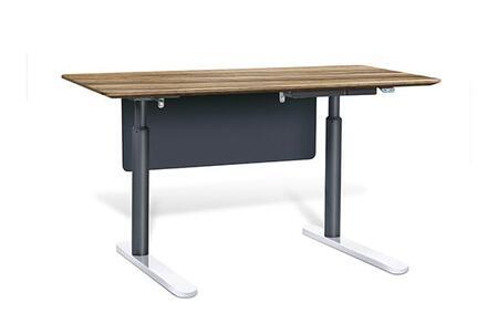 "Unique Furniture 7401XX Height Adjustable Sit Stand Desk 63"""