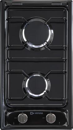 "Verona VECTG212FDE 12"" Gas Sealed Burner Style Cooktop"