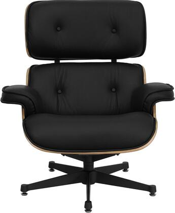 Flash Furniture ZBPRESIDEOCH001OTTBKGG  Leather Chaise Lounge