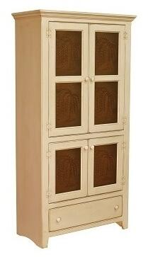 Chelsea Home Furniture 465232TBUT Georgetown Series Freestanding Wood 1 Drawers Cabinet