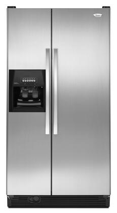 Whirlpool ED5LHAXWS Freestanding Side by Side Refrigerator