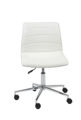 """Euro Style 17217WHT 25"""" Contemporary Office Chair"""