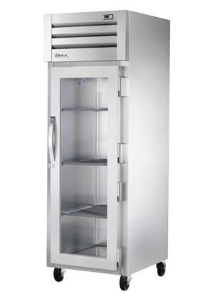 True STG1R Spec Series Reach-In Refrigerator with 37 Cu. Ft. Capacity, LED Lighting and Glass Swing-Door
