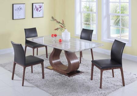 Chintaly SAGE5PC Sage Dining Room Sets