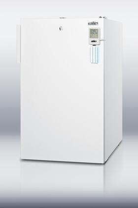 Summit CM411LBIMED  Freestanding Counter Depth Compact Refrigerator with 4.1 cu. ft. Capacity, 2 Wire ShelvesField Reversible Doors