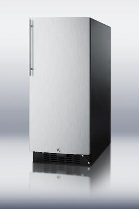 """Summit SWC1535BSSHV 14 3/4"""" Built-In Wine Cooler 