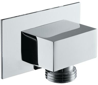 Rohl 1795 Spa Shower Collection Modern Square Wall Outlet for 1340 Handshower Set in