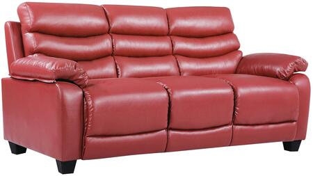 Glory Furniture G562S  Stationary Faux Leather Sofa