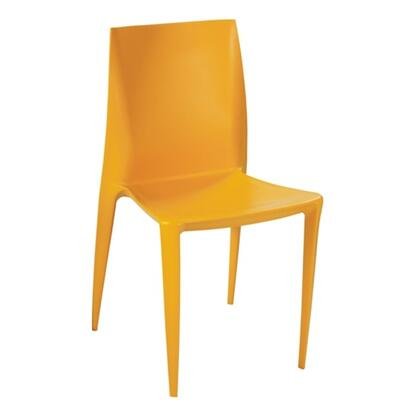 Fine Mod Imports FMI2015YELLOW modern/contemporary Not Upholstered ABS Frame Dining Room Chair