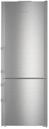 "Liebherr CS1640Bx 30"" Fridge-freezer with 15.2 cu ft. Total Capacity, 4.2 Cu. Ft. Freezer Capacity, NoFrost, Glass Shelves, Right Hinge, Sabbath Mode, Energy Star Certified in Stainless Steel"