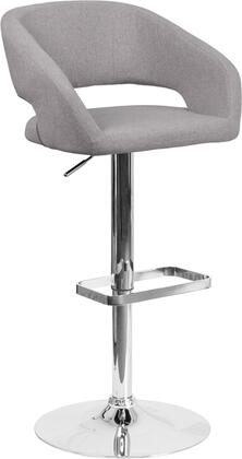 Flash Furniture CH122070GYFABGG Residential Fabric Upholstered Bar Stool