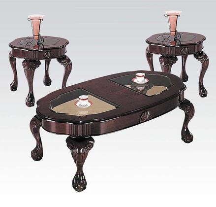 Acme Furniture 08195 Traditional Living Room Table Set