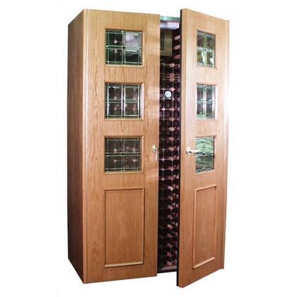 "Vinotemp VINO700EMPIREBN 51"" Wine Cooler"