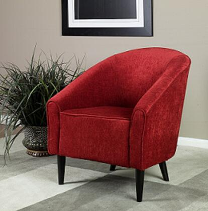Armen Living LC278CLRE Orion Series  in Red