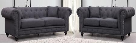 Meridian Chesterfield 2 PC Set