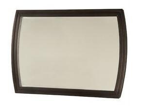 Zocalo BELNZC123L Belle Noir Series Rectangular Landscape Wall Mirror
