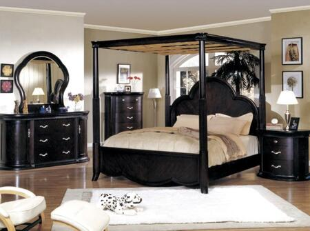 Yuan Tai NC9000Q Nicolette Series  Queen Size Poster Bed