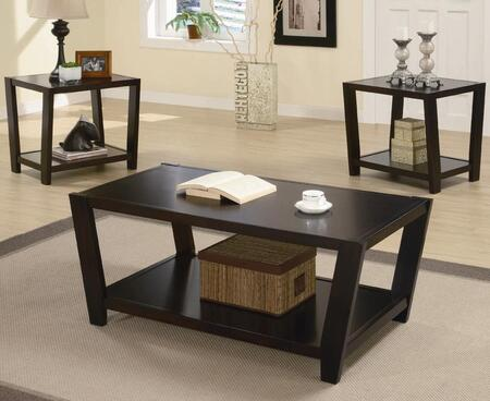 Coaster 70151 Modern 3 Piece Occasional Table Set by Coaster Co.